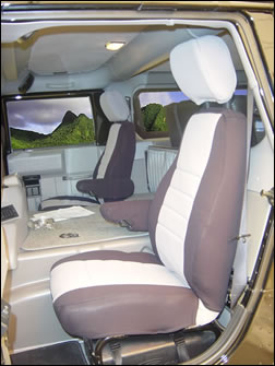 Hummer Middle Seat Covers