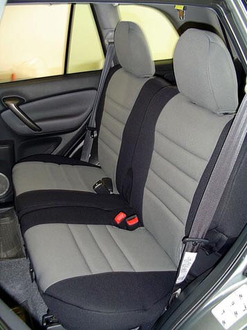 Toyota Rav4 Seat Covers >> Toyota RAV4 Standard Color Seat Covers - Rear Seats - Wet Okole Hawaii