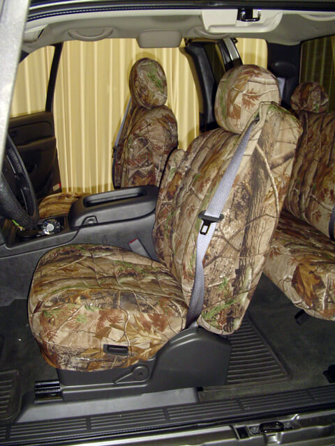 Chevrolet Silverado Realtree Seat Covers - Wet Okole Hawaii