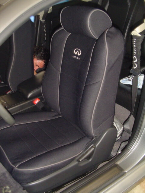 Infiniti Seat Cover Gallery