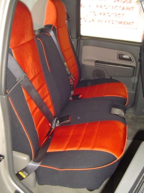 Chevrolet Colorado Standard Color Seat Covers Rear Seats