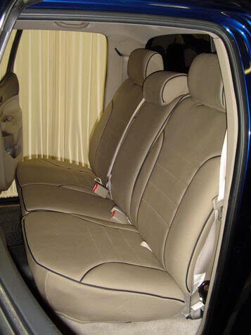 Toyota Tacoma Seat Covers >> Toyota Tacoma Full Piping Seat Covers - Rear Seats - Wet ...