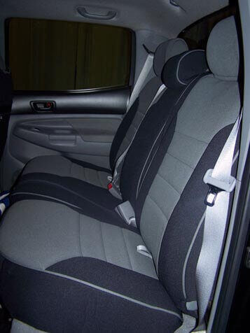 Toyota Tacoma Half Piping Seat Covers Rear Seats Wet