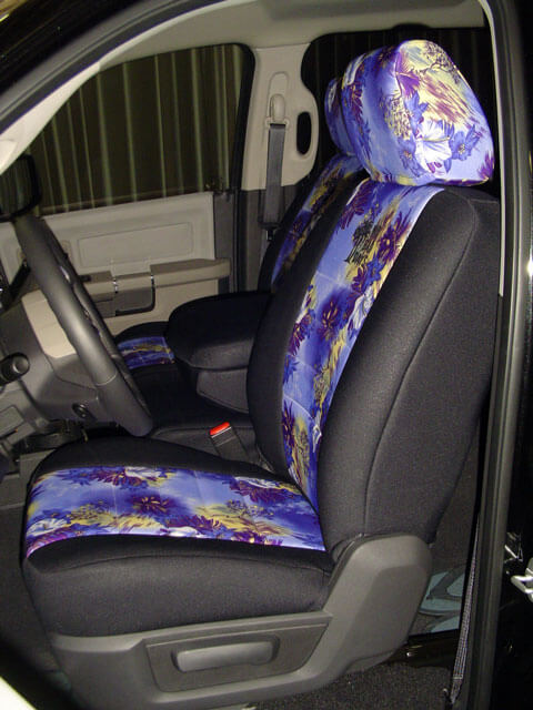 Car Seat Protector >> Dodge Ram Pattern Seat Covers - Wet Okole Hawaii