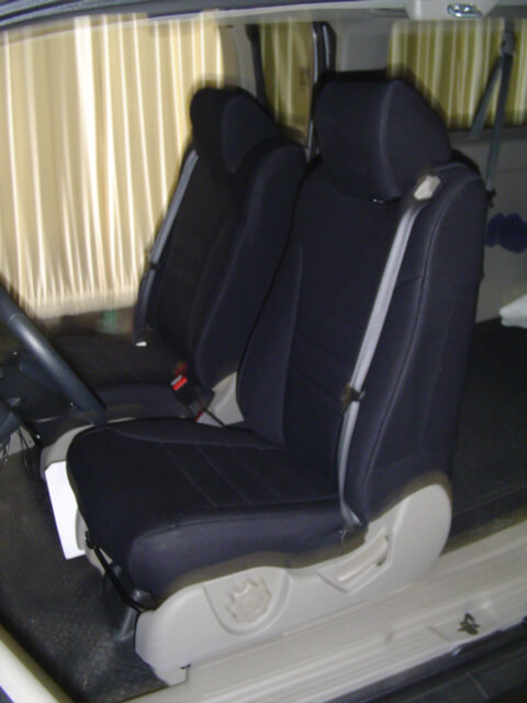 Honda Element Standard Color Seat Covers - Rear Seats - Wet Okole Hawaii