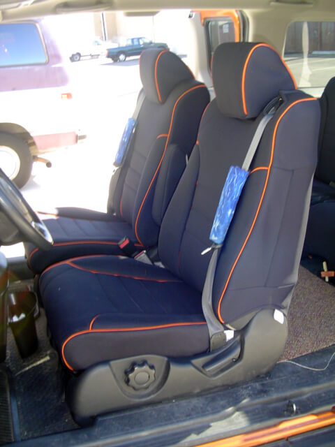 Honda Element Standard Color Seat Covers Rear Seats