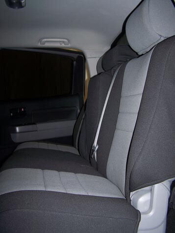 Toyota Tundra Standard Color Seat Covers Rear Seats
