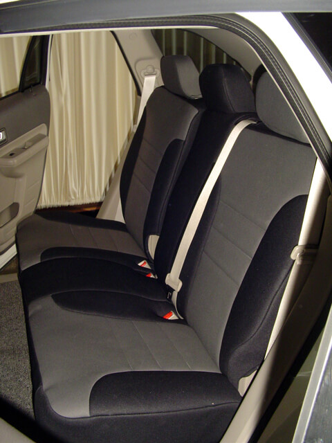 ford edge standard color seat covers rear seats wet okole hawaii. Black Bedroom Furniture Sets. Home Design Ideas