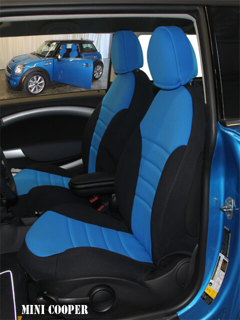 seat covers mini cooper seat covers. Black Bedroom Furniture Sets. Home Design Ideas