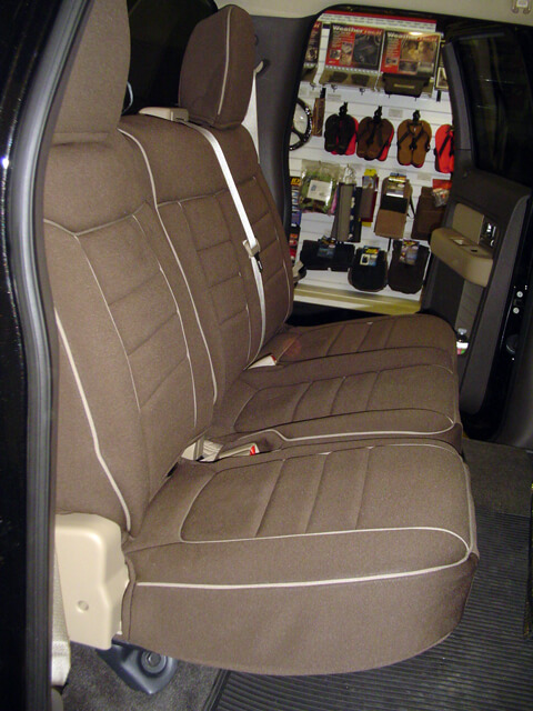 Ford F150 Standard Color Seat Covers Rear Seats Wet
