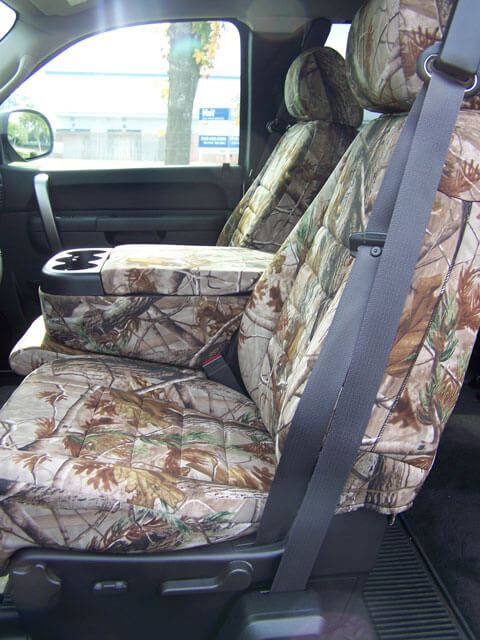Silverado Seat Covers Camo Velcromag