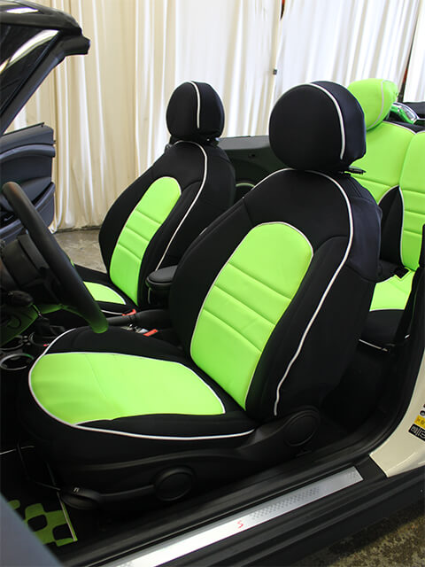 Mini Cooper Seat Covers Wet Okole Hawaii