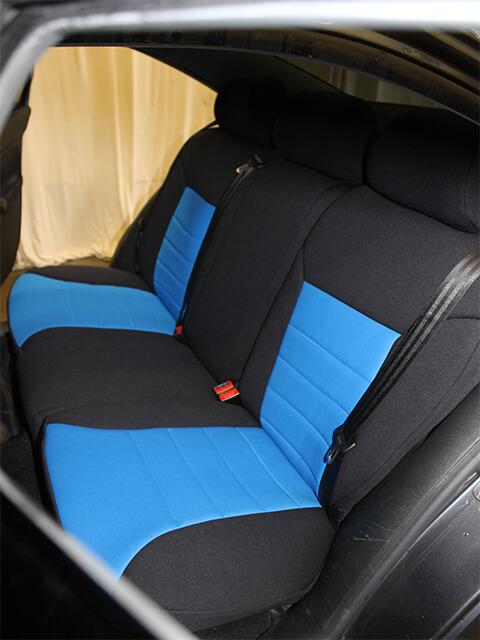 Volkswagen Jetta Standard Color Seat Covers Rear Seats