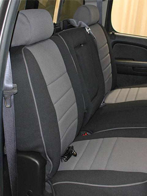 Chevrolet Silverado Half Piping Seat Covers