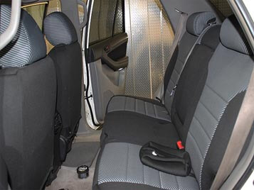 Toyota 4runner Pattern Seat Covers Rear Seats Wet