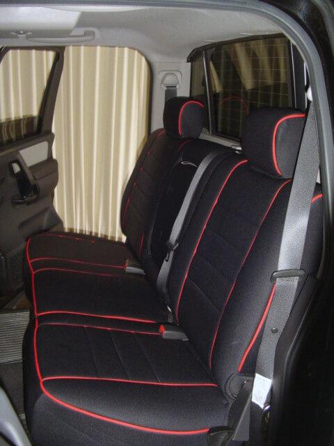Nissan Titan Standard Color Seat Covers Rear Seats Wet