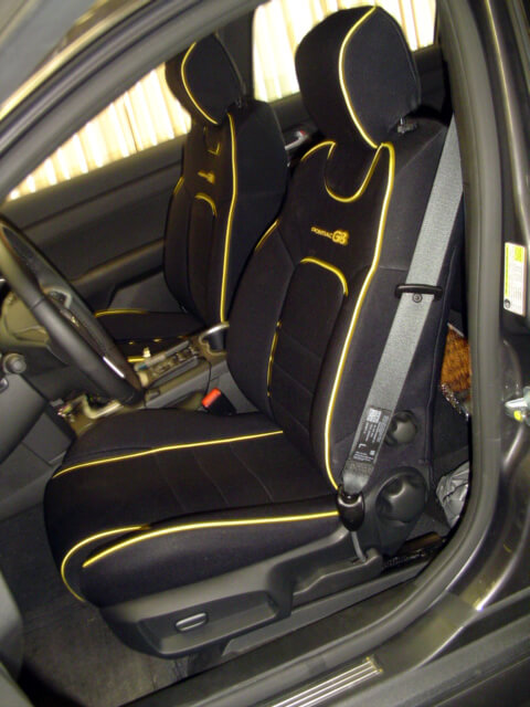 Pontiac Seat Cover Gallery