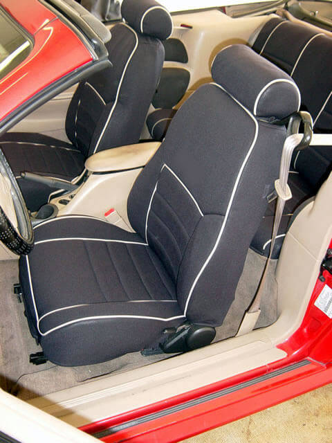Ford mustang standard color seat covers rear seats wet okole hawaii