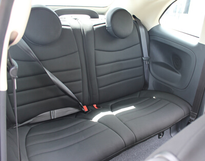Fiat 500 Standard Color Seat Covers