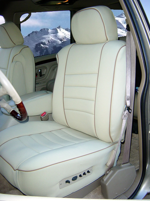 Cadillac Escalade Standard Color Seat Covers Middle Or