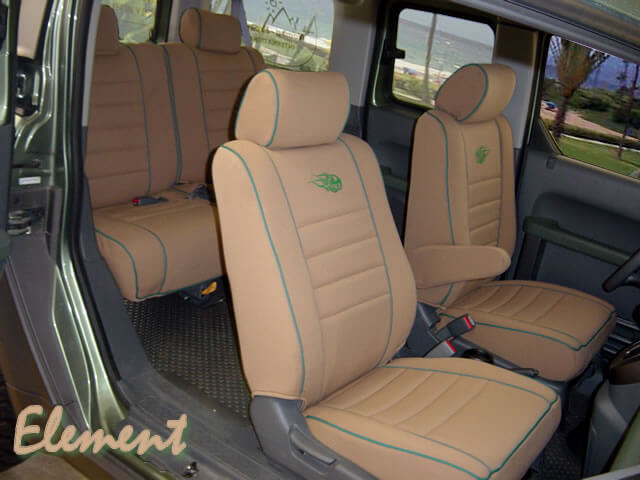 Honda Element Full Piping Seat Covers Wet Okole Hawaii