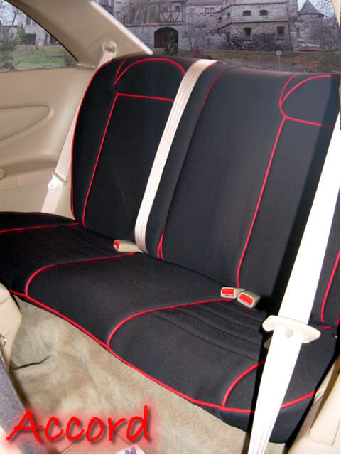 Honda Accord Standard Color Seat Covers Rear Seats Wet