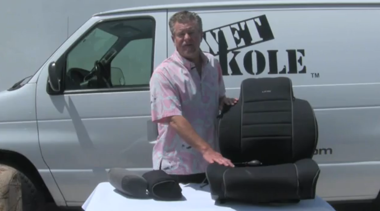 Wet Okole Vid #2 | Waterproof Car Seat Covers Installation – Headrest Cover Installation