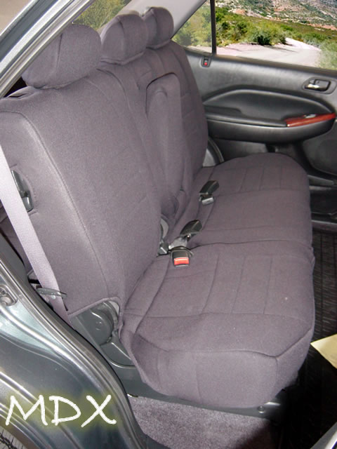 Acura MDX Standard Color Seat Covers - Rear Seats