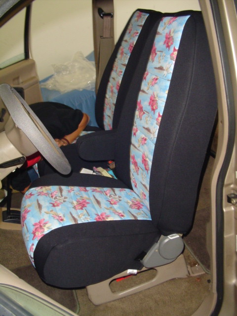 Ford Aerostar Pattern Seat Covers