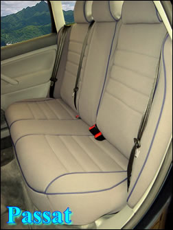 Volkswagon VW Seat Covers - Rear