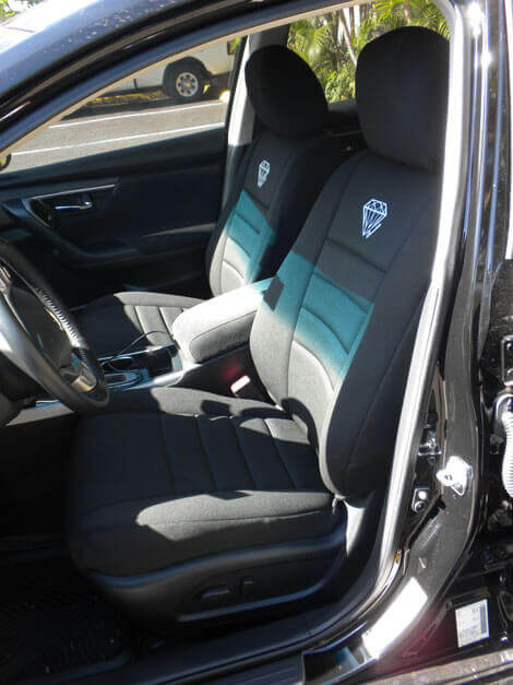 Lovely Nissan Altima 3.5SE Front Seat Covers (07 Current)