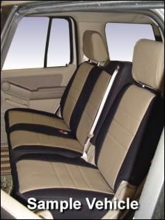 Chrysler Town And Country Standard Color Seat Covers