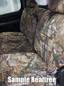 Audi 100/200 Realtree Seat Covers - Rear Seats