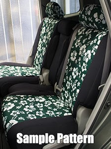 Audi 100/200 Pattern Seat Covers - Rear Seats