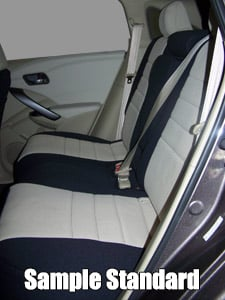 Audi 100/200 Standard Color Seat Covers - Rear Seats