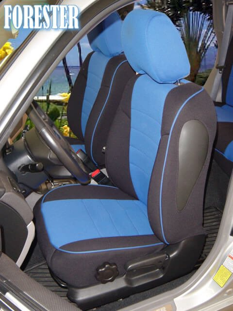 Subaru Forester Half Piping Seat Covers