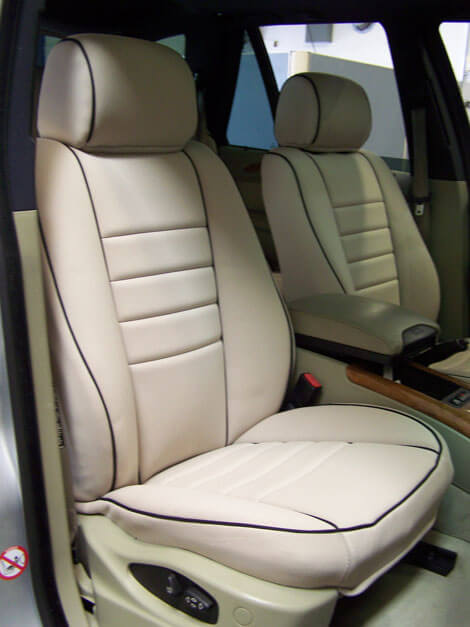 BMW X5 Full Piping Seat Covers
