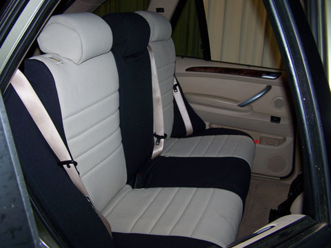 BMW X5 Standard Color Seat Covers   Rear Seats