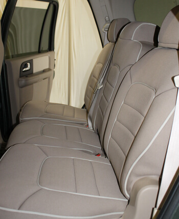 Ford Expedition Full Piping Seat Covers - Rear Seats u0026 Rear & Ford Expedition Full Piping Seat Covers - Rear Seats u0026 Rear: Wet ... markmcfarlin.com