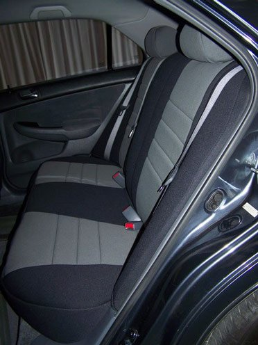 Honda Accord Standard Color Seat Covers   Rear Seats