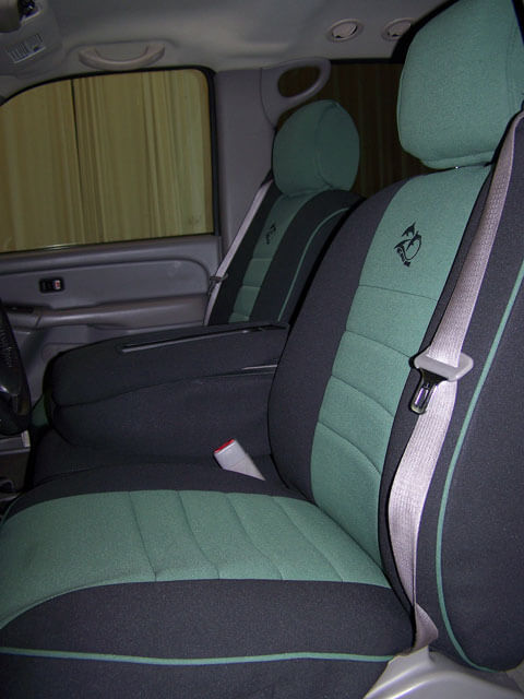 Amazing Chevrolet Silverado Half Piping Seat Covers