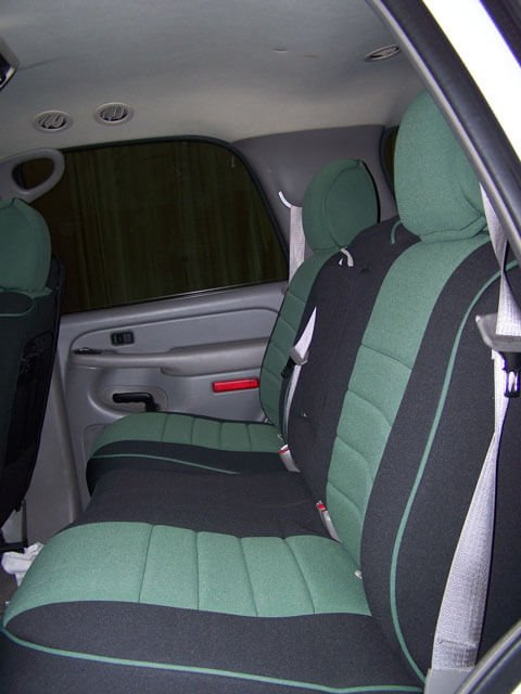 chevrolet tahoe half piping seat covers rear seats wet okole hawaii. Black Bedroom Furniture Sets. Home Design Ideas