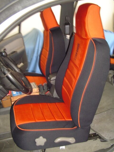 Chevrolet Colorado Realtree Seat Covers Rear Seats Wet