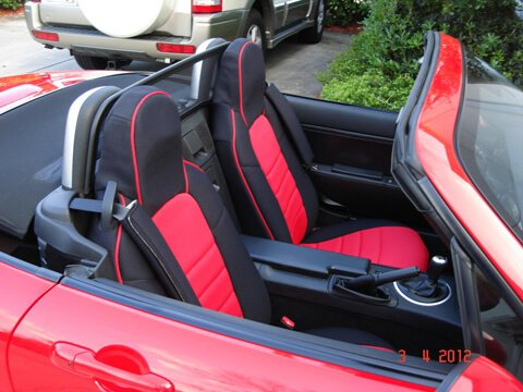 Mazda Miata Half Piping Seat Covers