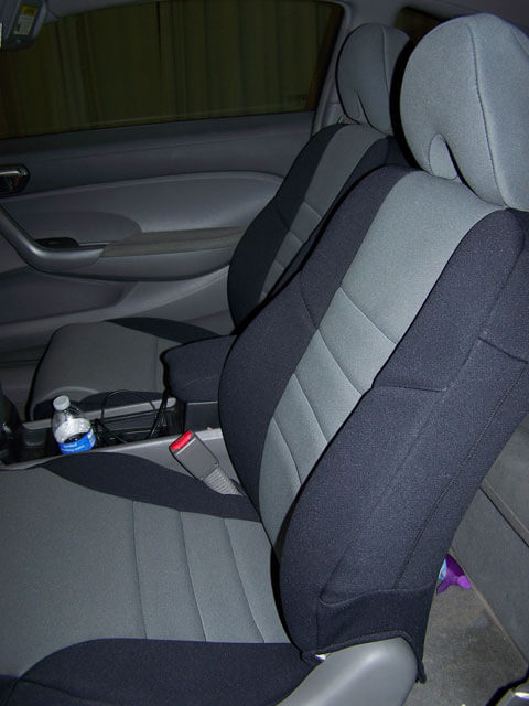 Honda Civic Coupe Front Seat Covers 2006 Cur