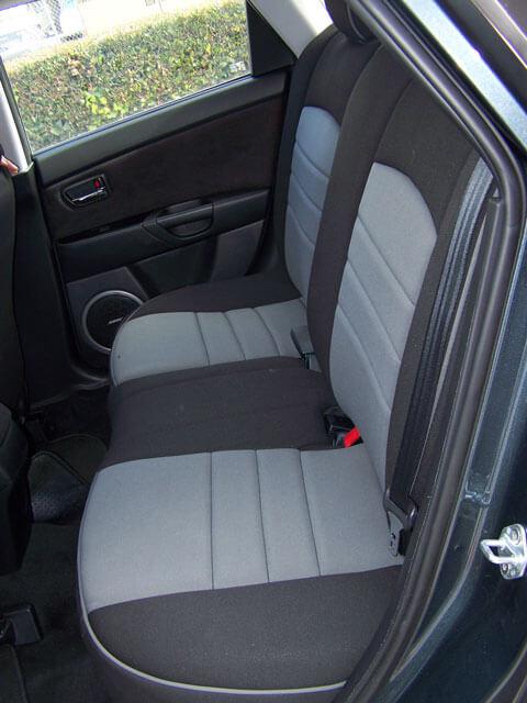 Charming Mazda 6 Half Piping Seat Covers   Rear Seats
