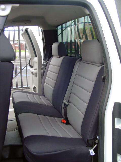 Chevrolet Silverado Standard Color Seat Covers   Rear Seats