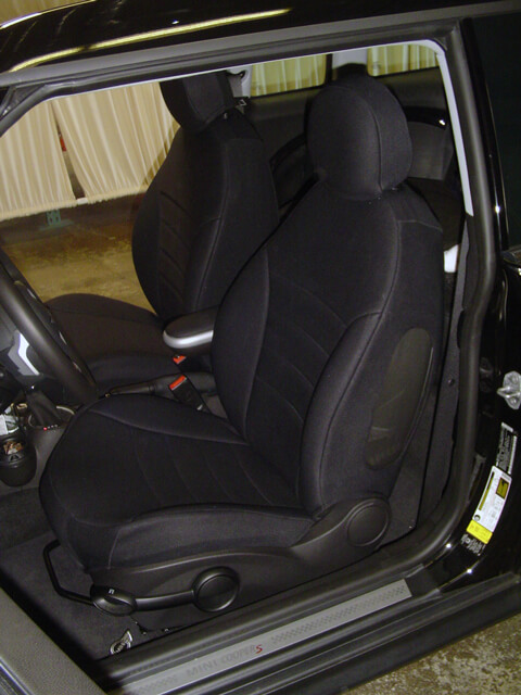 mini cooper pattern seat covers wet okole hawaii. Black Bedroom Furniture Sets. Home Design Ideas