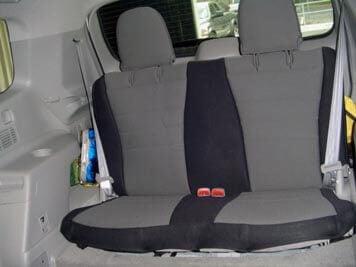toyota highlander standard color seat covers rear seats wet okole hawaii. Black Bedroom Furniture Sets. Home Design Ideas