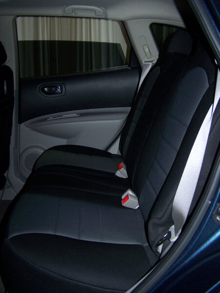 Beautiful Nissan Rogue Standard Color Seat Covers   Rear Seats